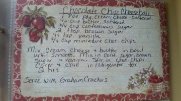Missy's Chocolate Chip Cookie Dough Dip