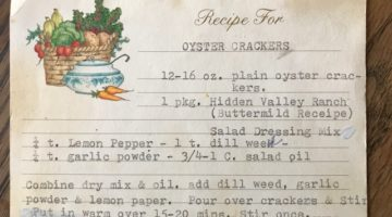 Granny's Seasoned Oyster Crackers