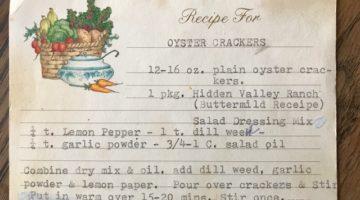 Granny's Seasoned Oyster Crackers