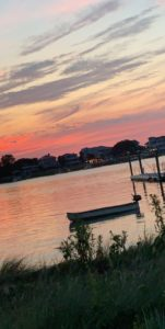 The Intracoastal Waterway at Sunset